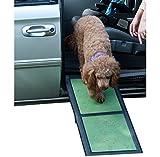 Pet Gear Travel Lite Zweigeteilte Hunderampe, zusammenklappbar, 42 x 16 x 4 cm
